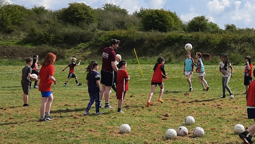 Want to be a Cúl Camp Coach this summer?